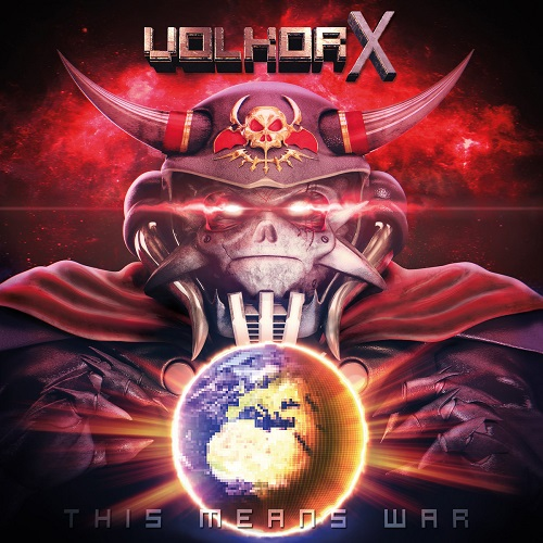 Volkor X - This Means War - Cover