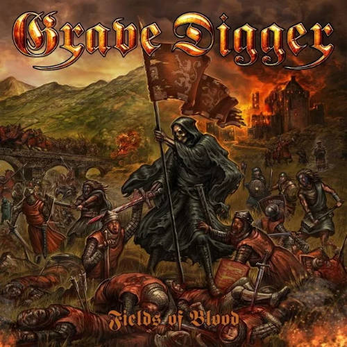Grave Digger - Fields Of Blood - Cover