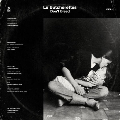 Le Butcherettes - Don't Bleed (EP) - Cover