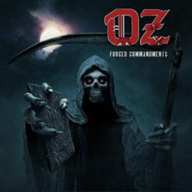 """Das Cover von """"Forced Commandments"""" von Oz"""