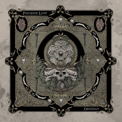 """Das Cover von """"Obsidian"""" von Paradise Lost"""