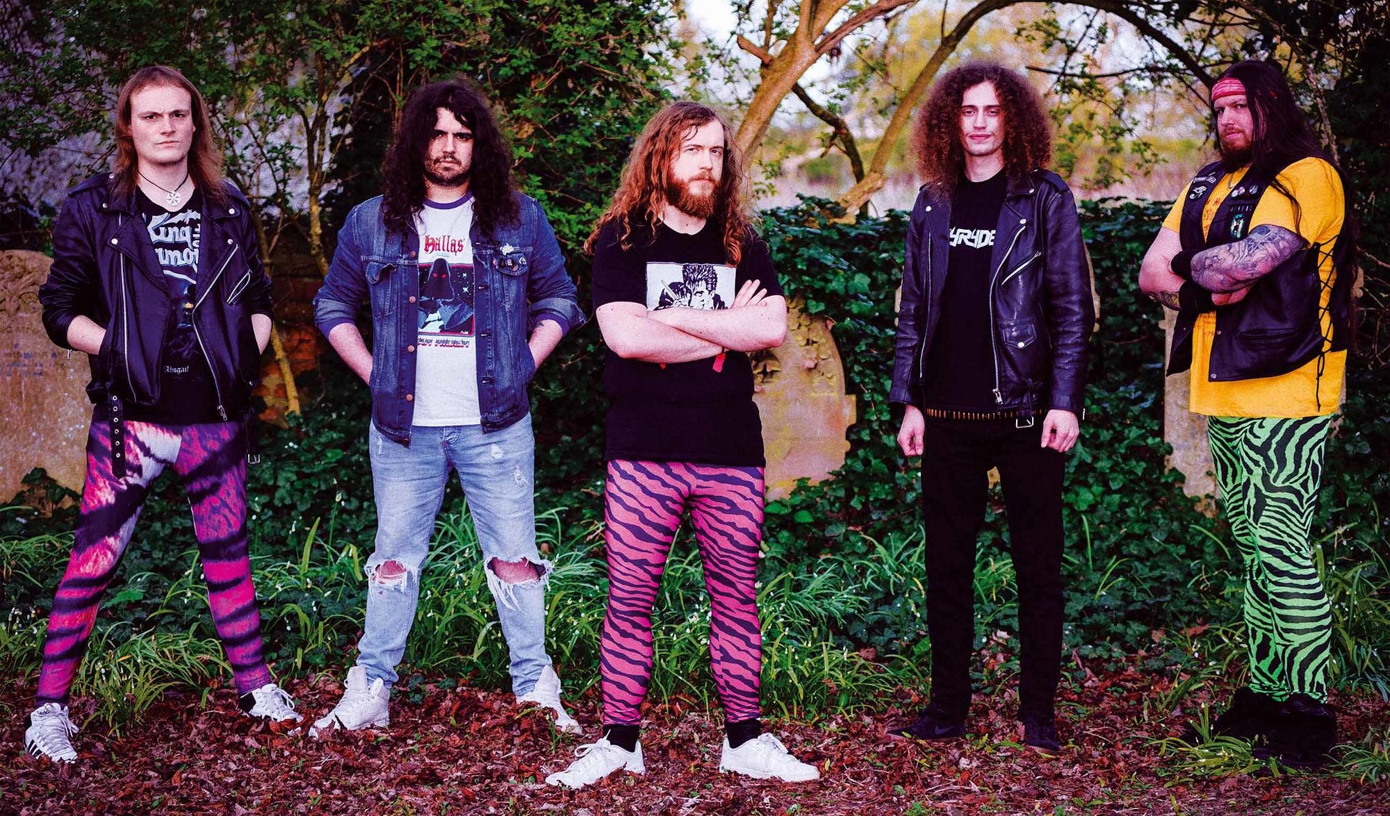 Ein Foto der Band Skyryder