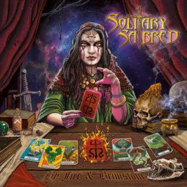"""Das Cover von """"By Fire & Brimstone"""" von Solitary Sabred"""