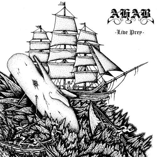 Ahab - Live Prey - Cover