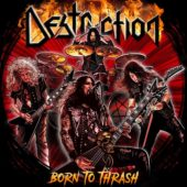 Destruction - Born To Thrash (Live In Germany) - CD-Cover