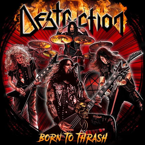 Destruction - Born To Thrash (Live In Germany) - Cover