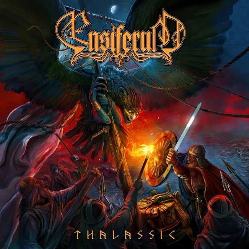 """Das Cover von """"Thalassic"""" von Ensiferum"""