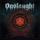 Onslaught - Generation Antichrist - CD-Cover