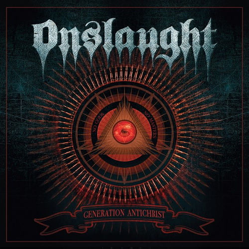 Onslaught - Generation Antichrist - Cover