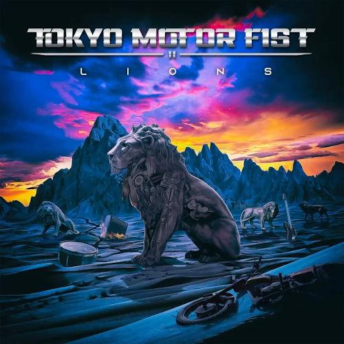"""Das Cover von """"Lions"""" von Tokyo Motor Fist"""