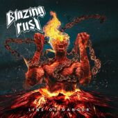 Blazing Rust - Line Of Danger - CD-Cover