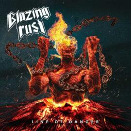 """Das Cover von """"Line Of Danger"""" von Blazing Rust"""