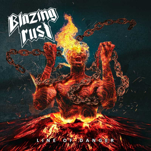 Cover - Blazing Rust – Line Of Danger