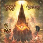 Al-Namrood / Darkestrah - Akyr Zaman - Tajer Al Punqia (Split) - CD-Cover