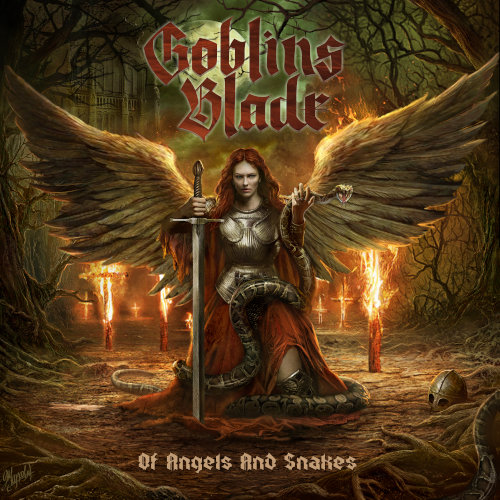 Goblins Blade - Of Angels And Snakes - Cover
