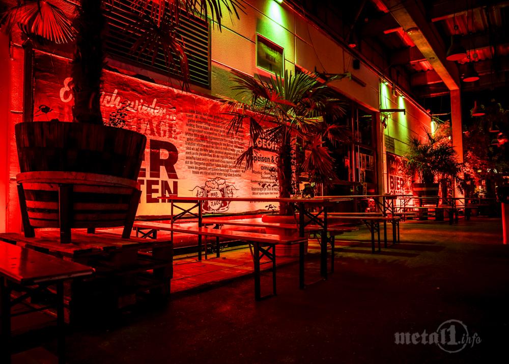 Das Backstage in München bei der Night of Light 2020