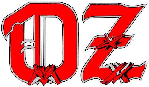Das Logo der Heavy-Metal-Band Oz