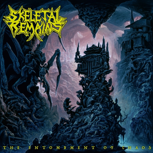 Skeletal Remains - The Entombment Of Chaos - Cover