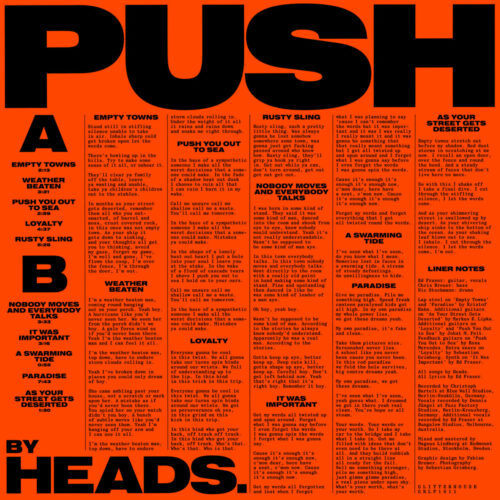 Heads. - Push - Cover