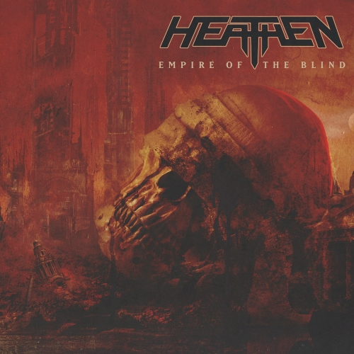 Cover - Heathen – Empire Of The Blind