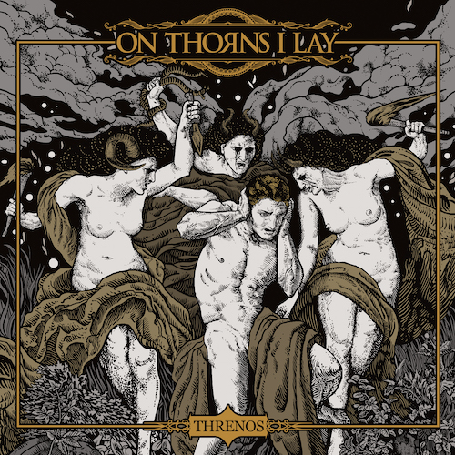 On Thorns I Lay - Threnos - Cover