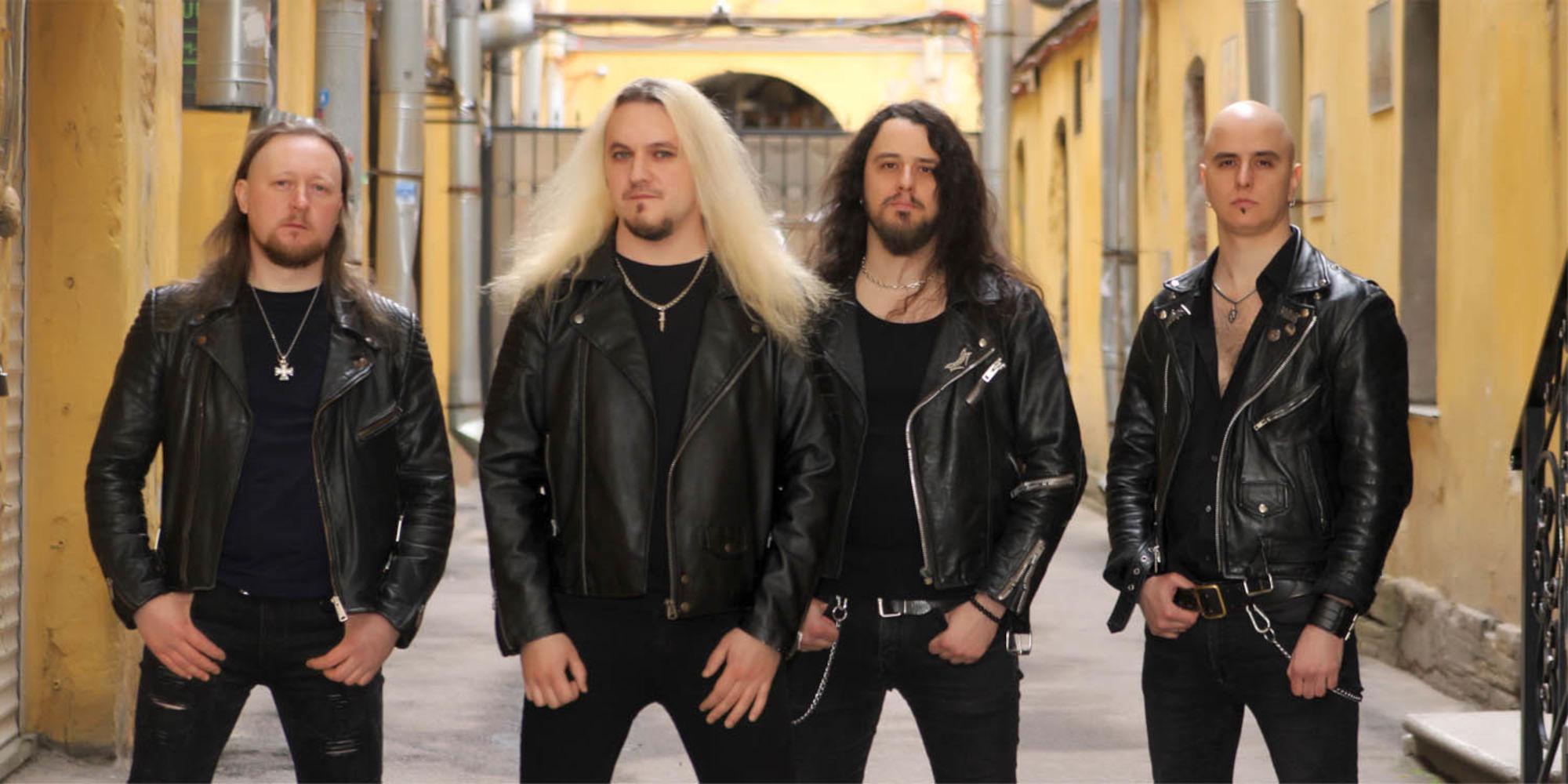 Ein Foto der Band Blazing Rust