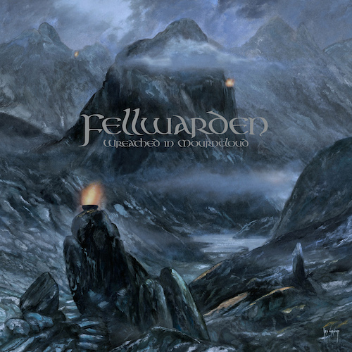Cover - Fellwarden – Wreathed In Mourncloud
