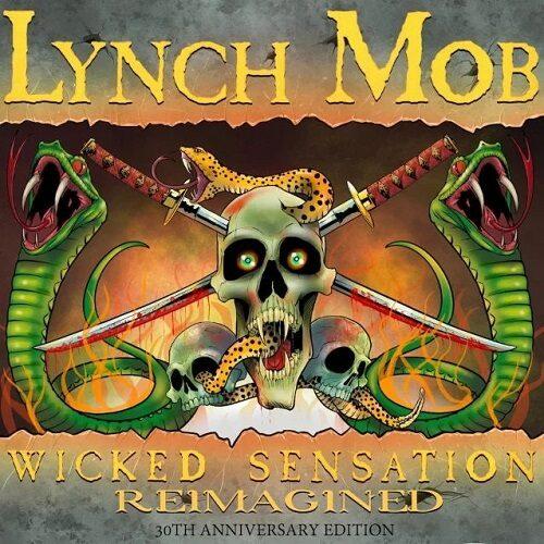 """Das Cover von """"Wicked Sensation Reimagined"""" von Lynch Mob"""
