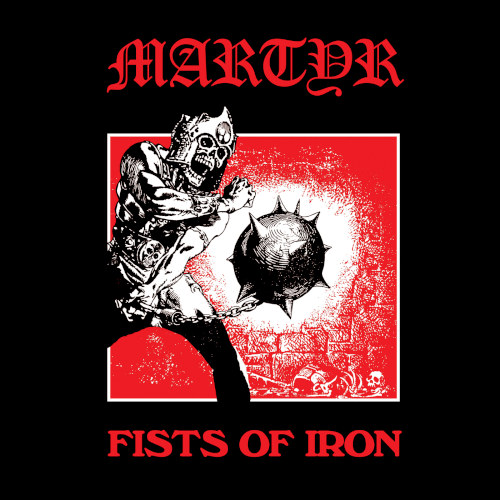 Martyr - Fists Of Iron (EP) - Cover