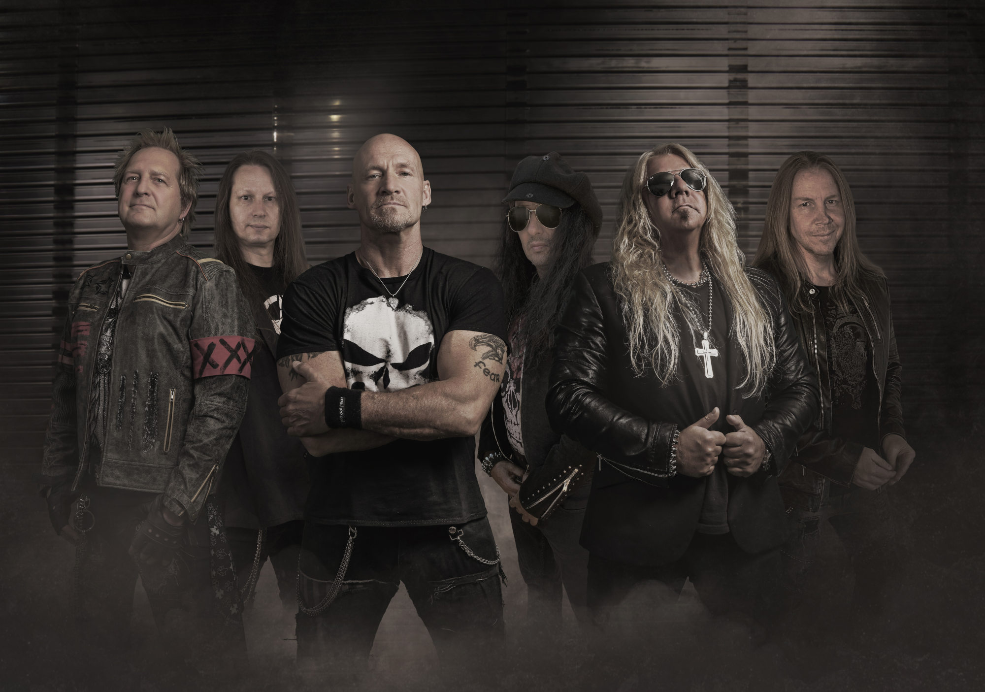 Ein Foto der Heavy-Metal-Band Primal Fear