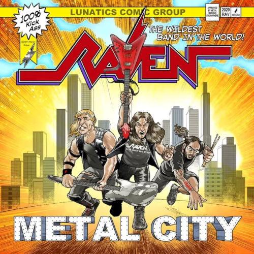 """Das Cover von """"Metal City"""" von Raven"""