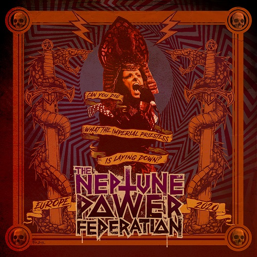Cover - The Neptune Power Federation – Can You Dig – Europe 2020 (EP)