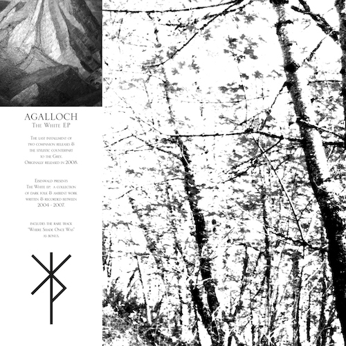 Agalloch - The White + The Grey (Compilation) - Cover
