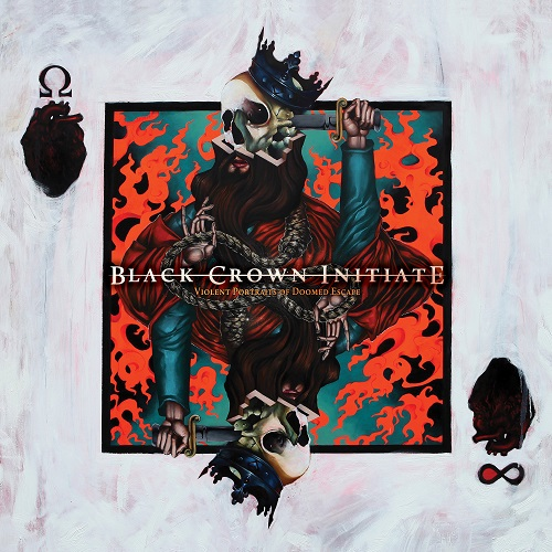 Black Crown Initiate - Violent Portraits Of Doomed Escape - Cover