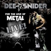 Dee Snider - For The Love Of Metal Live - CD-Cover