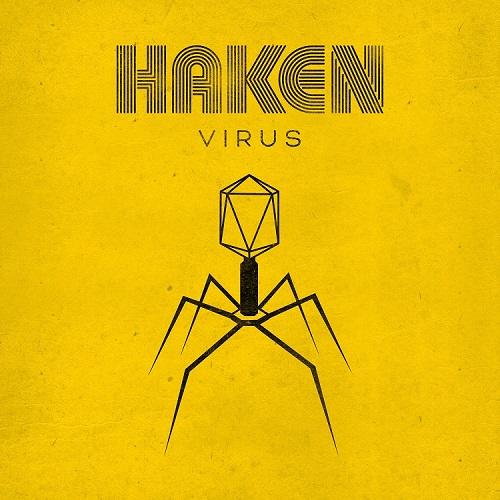 Cover - Haken – Virus