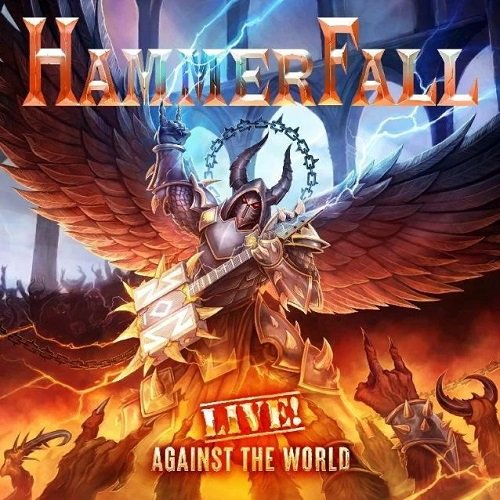 Hammerfall - Live! Against The World (Blu-ray+2CD) - Cover