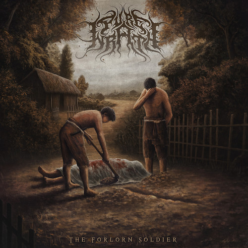 Pure Wrath - The Forlorn Soldier (EP) - Cover