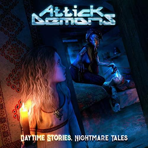 """Das Cover von """"Daytime Stories, Nightmare Tales"""" von Attick Demons"""