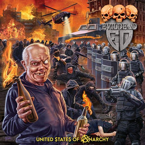 Cover - Evildead – United States Of Anarchy