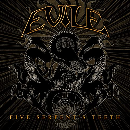 Cover - Evile – Five Serpent's Teeth
