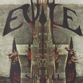 """Das Cover von """"Skull"""" von Evile"""