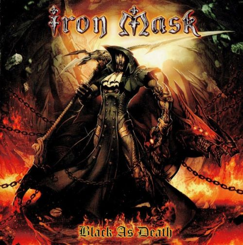 Cover - Iron Mask – Black As Death