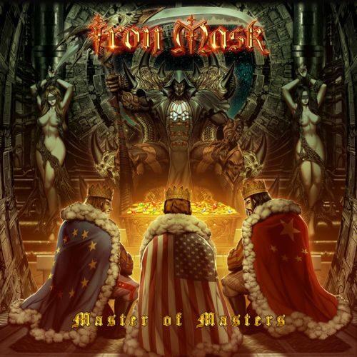 """Das Cover von """"Master Of Masters"""" von Iron Mask"""