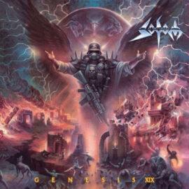 """Das Cover von """"Genesis XIX"""" von Sodom"""