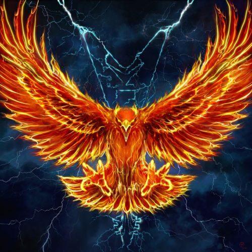 """Das Cover der Single """"The Fire Never Dies"""" von Sylent Storm"""