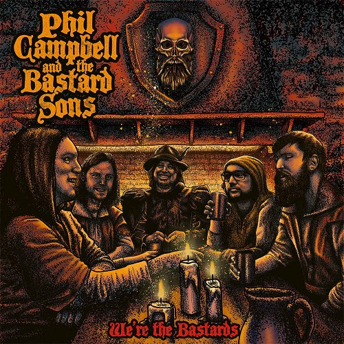 Cover - Phil Campbell And The Bastard Sons – We're The Bastards