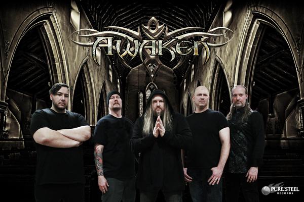 Ein Foto der Metal-Band Awaken