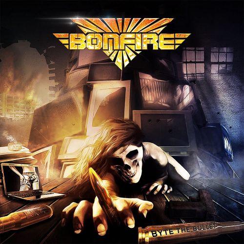 Bonfire - Byte The Bullet - Cover