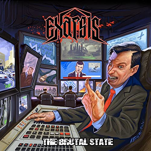 Cover - Exarsis – The Brutal State